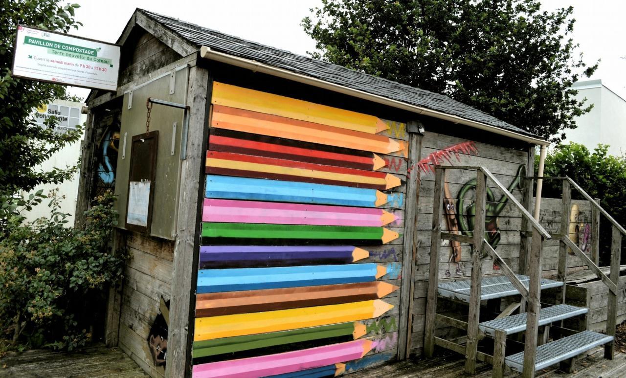 pavillon de compostage : Projet Graff